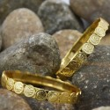 Traditional Gold Plated Lakshmi Cash/Coin Bangles