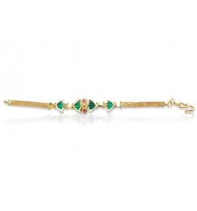 Green Palakka Ladies Bracelet