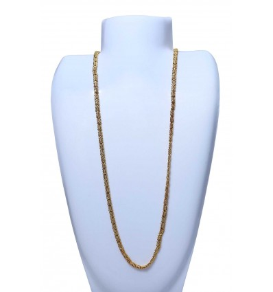 Micor Goldplated Spring Flower chain