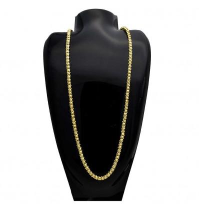 Designer Gold Plated Mulla Chain