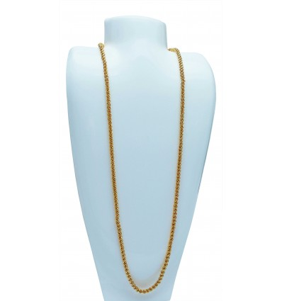Designer Gold Plated Coir Chain