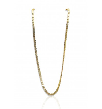 Designer Gold Plated Heart Chain