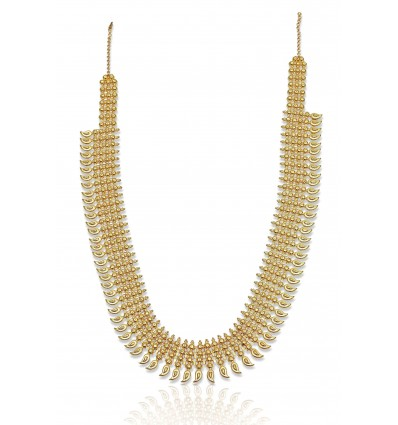 Gold plated Broad Mango Chain