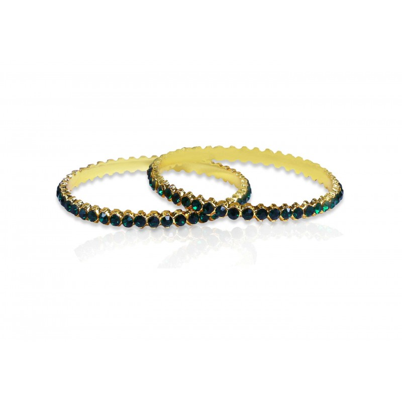 product red green bangles traditional stone