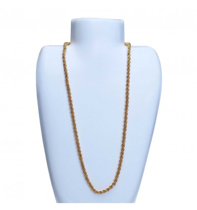 Gold Plated Designer Bombay Coir Chain