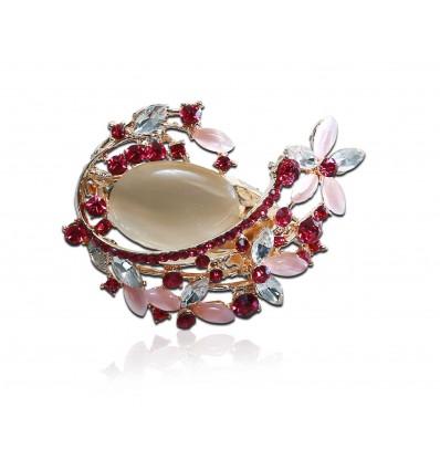 Novelty Bouquet Brooch Hijab Pin