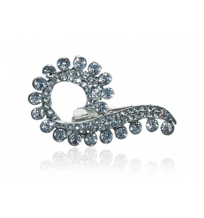 Rhinestone Cristal Wedding Brooch/Hijab Pin