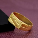 Stylish Gold plated Men's Rings
