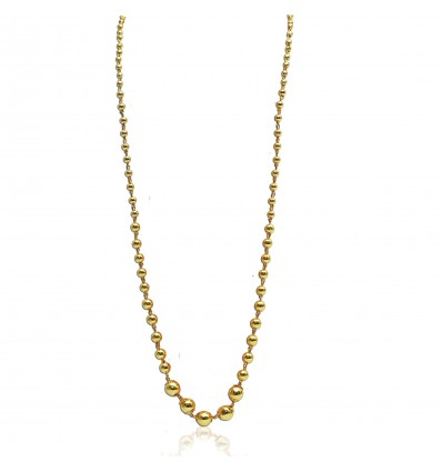 Goldball chain Necklace