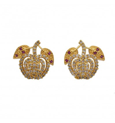 Premium Gold Plated Adial Ear Studs