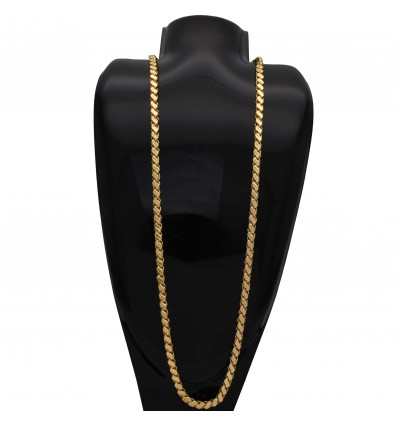 Designer Gold Plated Saniya Chain