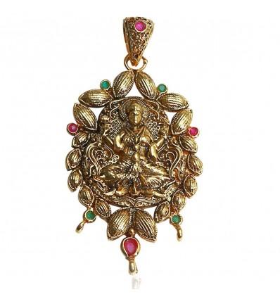 Antique One Gram Lakshmi Pendent