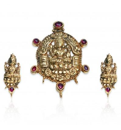 Antique Mahalakshmi Pendent Sets