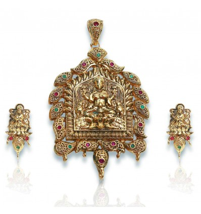 Antique Lakshmi Pendent Sets