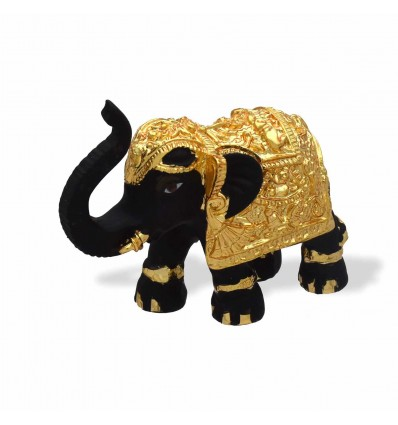 One Gram Gold plated Elephant Idol