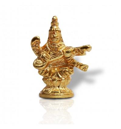 One Gram Gold plated Saraswathy/Gayathri Statue