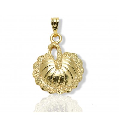 Gold plated Peacock Pendant