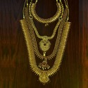 Stunning Antique Gold Plated Bridal Jewellery Set