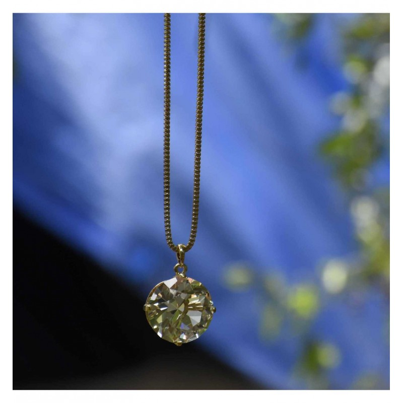 Buy Fancy Long Chain With Big Crystal Pendant Online 7964cf646