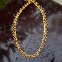 Bridal One Gram Gold Kerala Traditional Palakka Long Chain