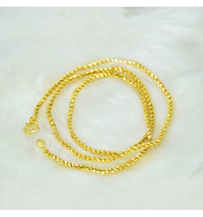 Designer Micro Gold Plated Nice Coir Chain