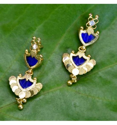 One Gram Plated Traditional Palakka Ear Drops