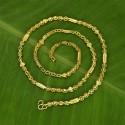 Micro Gold Plated Designer Neelathamara Chain
