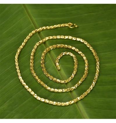 Gold Plated Designer New Jayanthi Chain