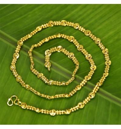 Gold plated designer Prawn Chain