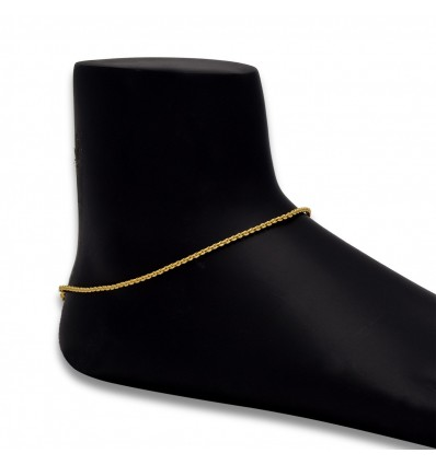 Micro Gold Plated Kids Anklet Payal