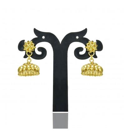 South Indian Gold Plated Umbrella Jumka