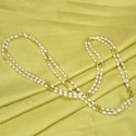 Elegant Gold Plated Two Layer Pearl Mala