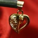 Trendy Designer Gold Plated Heart Pendant