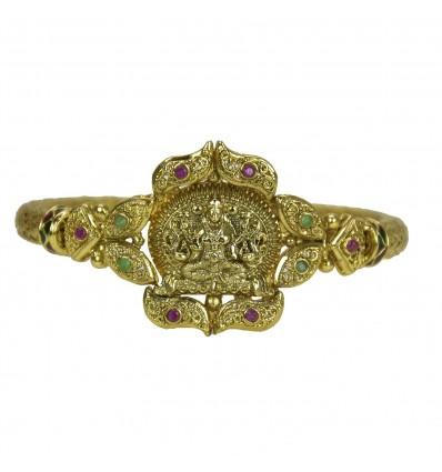 One Gram Gold Plated Antique Lakshmi Kada