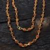 Gold plated Rudraksha Chain
