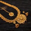 Ethnic Chettinad Lakshmi Peacock Jewellery Set