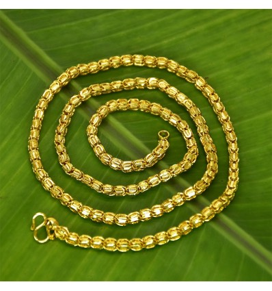 Gold plated Designer Thennampoo Chain