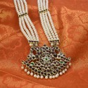 Elegant Four Strands Real Temple Jewellery Pearl Mala