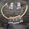 Original Blue Temple Jewellery Necklace Set