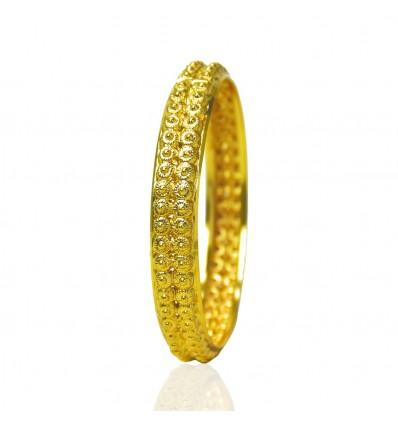 Golden Designer Daily Wear Medium Bangle