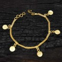 Head Coin Ladies Bracelet