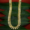 Gold Plated Trendy Bridal Mango Long Necklace