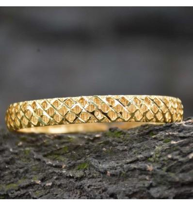 Gold Plated Designer Net Bangles