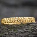 Gold Plated Designer Net Bangles for Women