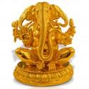 Three Head Ganesha Idol