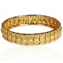 Gold Plated Designer Medium Bangle For Women