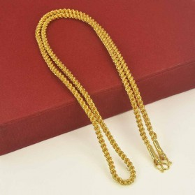 Elegant Gold Plated Medium Coir Chain for Ladies