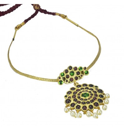 Original Adiga Chutti Temple Necklace