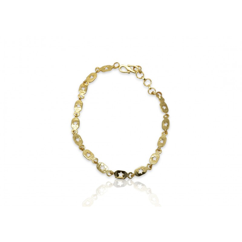 s yellow hallmarked length ladies fine infinity design ounce solid stylish gold women bracelet inch womens jewellery