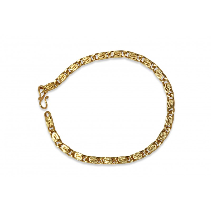 plated size guaranteed products gold one anklet copy griiham designer free ankletpayal of payal gram